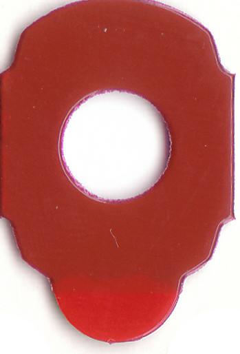 RED FIVE | Klebepad Durchmesser14