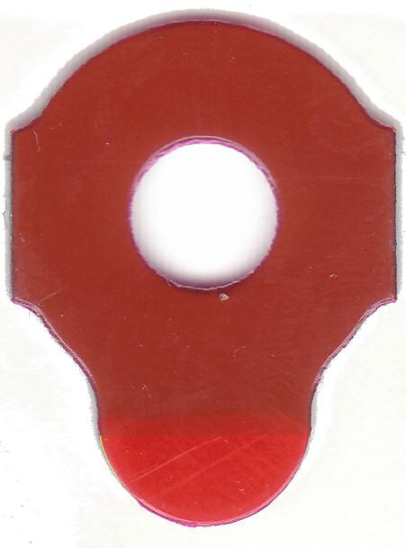 RED FIVE | Klebepad Durchmesser 18 mm