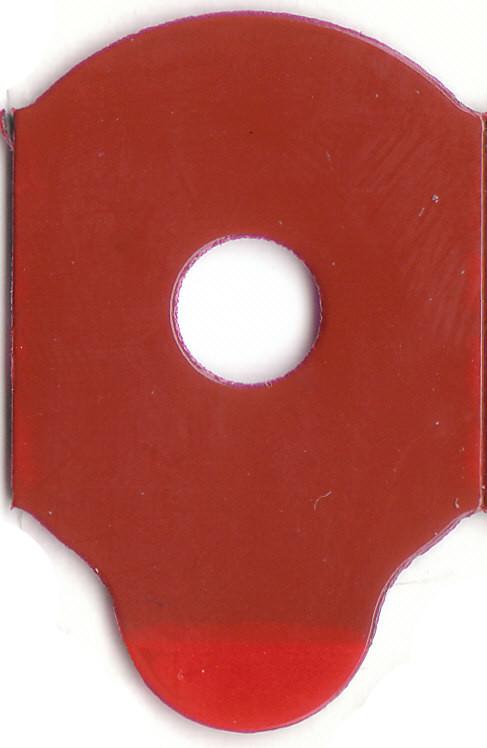 RED FIVE | Klebepad halboval | Durchmesser 20 mm