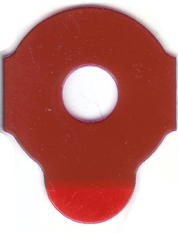 RED FIVE | Klebepad Durchmesser 21 Millimeter